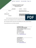 CNG Financial Corporation v. Google Inc - Document No. 31