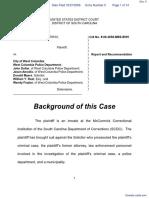 Rogers v. West Columbia et al - Document No. 5