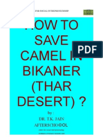 How to Save Camel in Bikaner (Thar Desert)