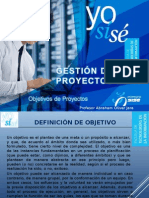 PPT2 - Objetivos de Proyectos