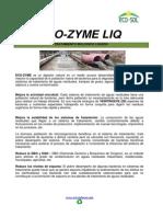Ficha Tecnica Eco-zyme Liq Tratamiento Biologico Liquido