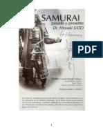 Los Samurais El Pasado y El Presente