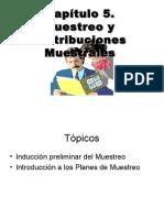 Cap5. Muestreo y Distribuciones Muestrales