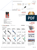 Pincel Marcador Permanente Sharpie Fino 4 Cores - Paper Mate | Canetas | Sua Lista Escolar