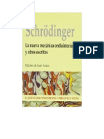 Schrodinger Erwin - La Nueva Mecanica Ondulatoria Y Otros Escritos