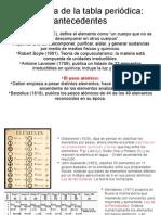 Historia Tabla Periodic A