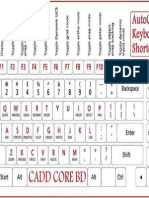 AutoCAD Shortcuts