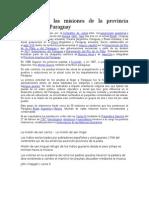 Historia de Las Misiones de La Provincia Jesuítica Del Paraguay