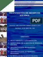 Clase 01 - Legislacion Peruana en Residuos Solidos