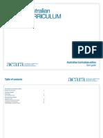 Australian Curriculum Web Site User Guide