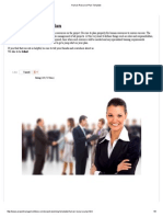 Human Resource Plan Template