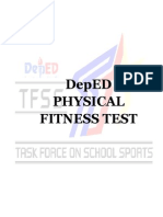 Final Deped Physical fitness test