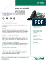 Yealink SIP-T29G Enterprise Gigabit IP Phone