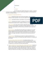 Cuestionario Matemáticas Financieras