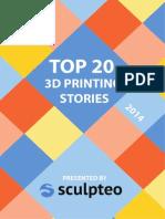 Sculpteo 20 Things