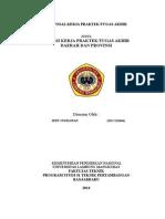 Format Proposal Dan Jadwal Konsul KTI