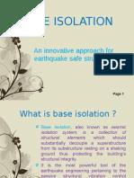 Base Isolation