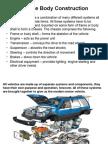 Vehicle Construction and Drive Arrangements