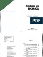 Berger - Introduccion a La Sociologia