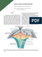 Volcanogenic Massive Sulphide Deposits