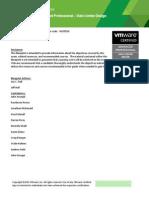 Vcap Dcd Vdcd550 Exam Blueprint v3 4