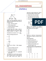 IES OBJ Civil Engineering 2007 Paper I