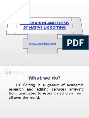 Thesis Editing Service | Editing | Thesis
