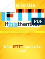 How to Use IFTTT and Connect the Apps You Love