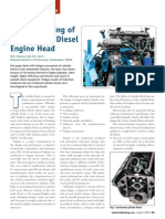 Fatigue Testing of Six-Cylinder Diesel Engine Head