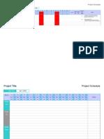 BM Project Schedule