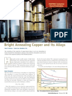 Bright Annealing Copper and Its Alloys