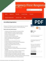 Accrediting Organizations