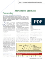 Advances in Martensitic Stainless Processing