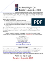 Sacramento 2015 NNO Full Packet