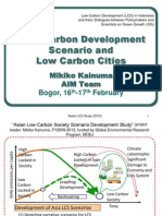 Low Carbon Development Scenarios