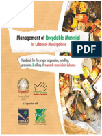 Management of Recyclable Material for Lebanese Municipalities