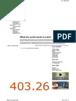 미국 Noaa 발표 대기중 이산화탄소 농도