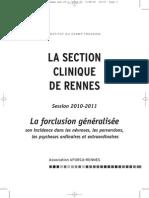 La Forclusion Generalisee Clinique Rennes