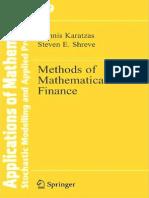 Methods of Mathematical Finance-Karatzas Shreve