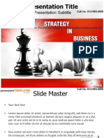 Strategy In Business Powerpoint Template