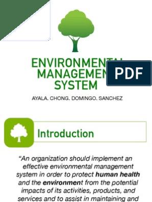 Environmental Management System | Environmental Resource