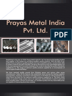 Prayas Metal India Pvt. Ltd. Maharashtra India