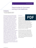EquaTerra Perspective, Doc Svcs Outsourcing in Healthcare (6024) 2009
