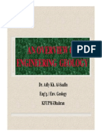 Engineering Geology and Its Role in Construction