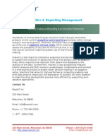 MaxisIT - Analytics & Reporting Management