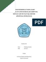 Proposal Metode Penelitian Sistem PSB on-Line