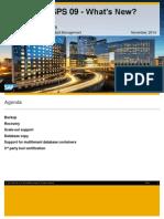 SAP HANA SPS 09 - Backup & Recovery