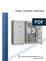 KUTAI MCCB Circuit Breaker Transfer Switch with remote monitoring options