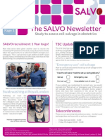 SALVO Newsletter July 15