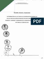 ATE PARA 2015 - ORD N° 364-MDA - INFORME TÉCNICO